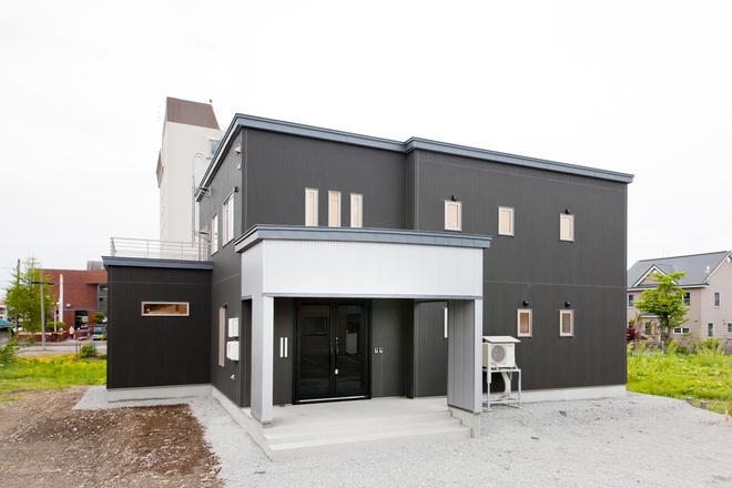 程よくスペースを共有した二世帯住宅