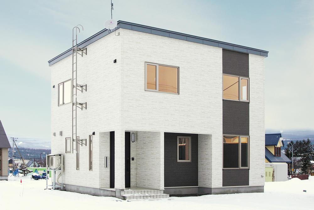 収納豊富なシンプルモダン住宅