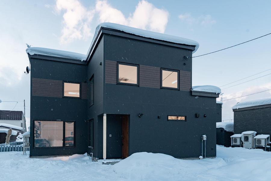 オープンスタイルの動線の良い家